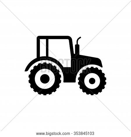 Tractor Icon Sign Symbol Design. Vector Illustration Of Tractor, Suitable For Any Business Related T