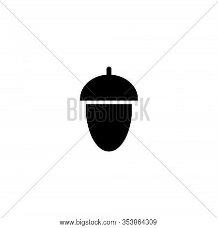 Nut Vector Icon. Nut Sign On White Background. Nut Icon For Web And App