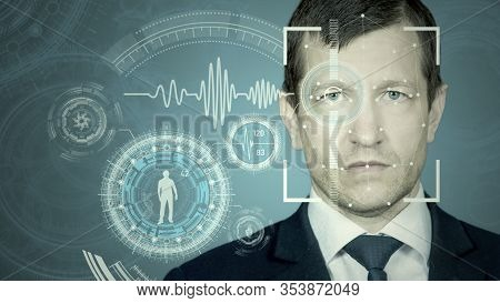 Face Recognition By Meshing And Scanning The Eye. Biometric Verification And Identification. Technol
