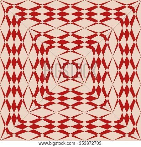 Vector Geometric Seamless Pattern. Simple Traditional Folk Ornament. Ethnic Tribal Motif. Repeat Orn
