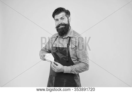My Favorite Food. Gourmet Product. Happy Bearded Man Hold Cheese. Cheesemaking Techniques. Cheese Ma