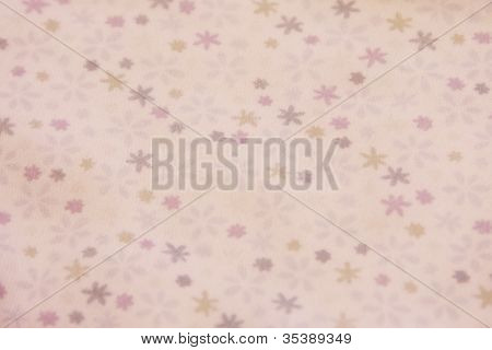 purple floral vintage fabric paper