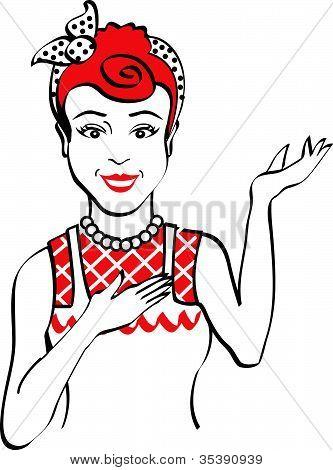 Waitress Clip Art