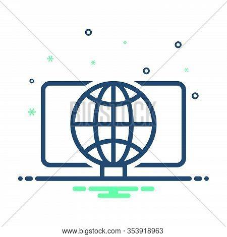 Mix Icon For Web Initiative Development Technology