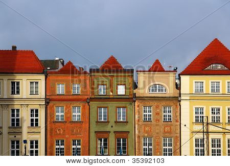Buildings On Market Square In Poznan, Poland