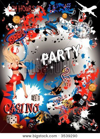 Vector Party Backgrounds