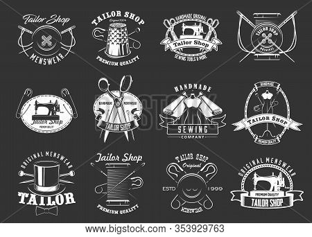 Kitchenware Utensils, Cooking Cutlery And Kitchen Cookware Silhouette Icons. Vector Isolated Cutting