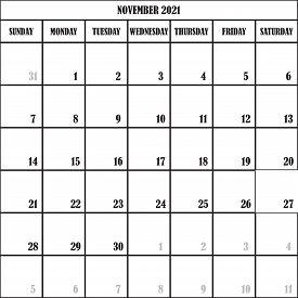 Calendar Planner November 2021 On Transparent Backgroundplanner February 2021 On Transparent Backgro