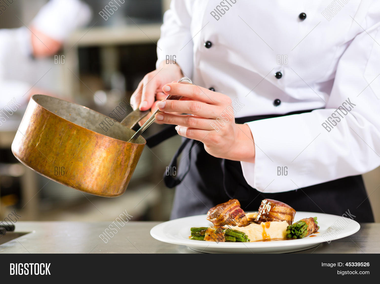 Imagen Y Foto Chef Mujer En Hotel (prueba Gratis)
