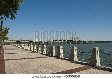 Lady's Island Bridge, Beaufort, South Carolina