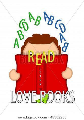 Read And Love Books White