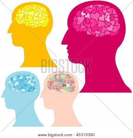 Heart  Brain Vector.eps