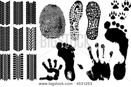 Vector Fingerprints, Footprints And More