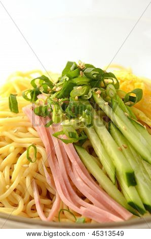 chilled summer noodles