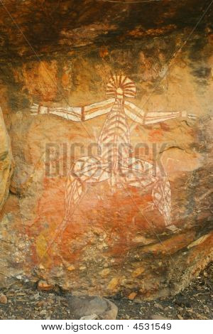 10,000 Year Old Aboriginal Rock Art Northern Territory Australia
