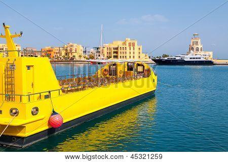 Marina. El Gouna, Egipto