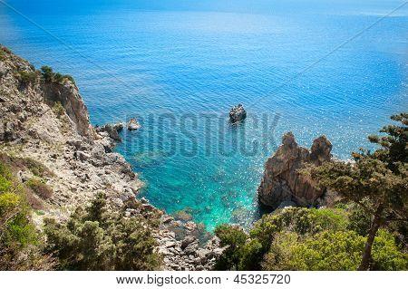 Magnificent View From Paleokastritsa, Corfu