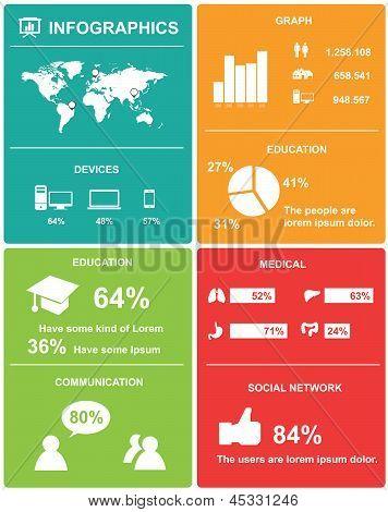 Infographics Elements. Vector Illustration