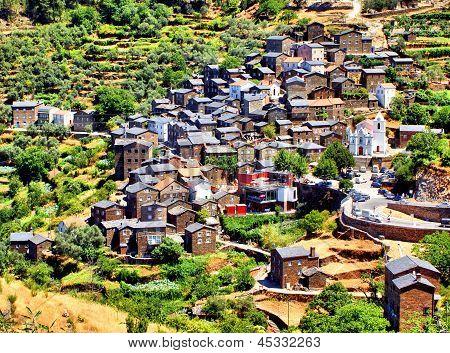 Portuguese mountain village of Piodao