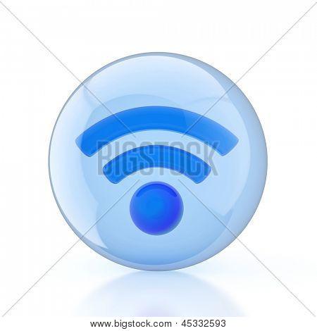Wireless Network. Wifi icon