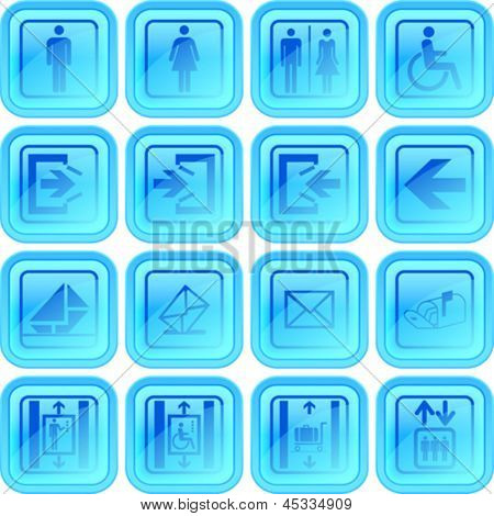 useful button or icon set