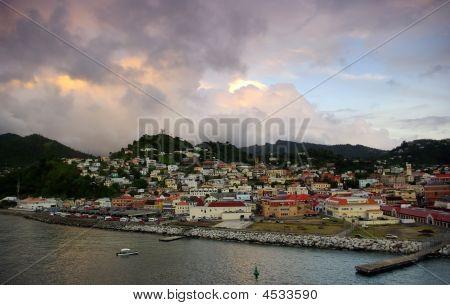 Sunset In Grenada