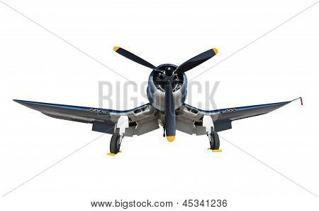 Old Navy Airplane Isolated