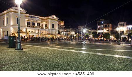 Centro de la ciudad de Esparta