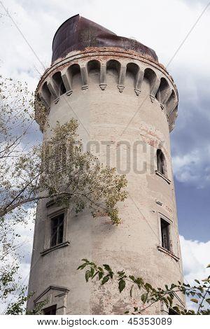 Water Pump Tower In Korosten, Ukraine
