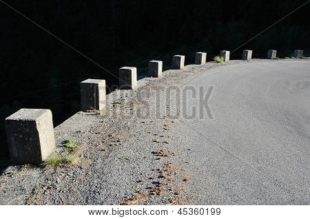 Dangerous Turn Of The Mountain Road