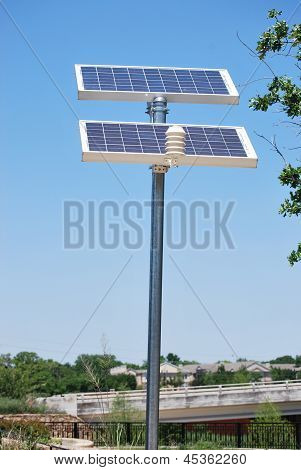 Solar Landscape Controls