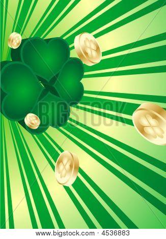 Retro Shamrock St. Patrick's Day