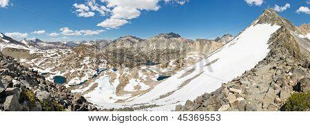 Sierra Nevada Panorama From Glen Pass