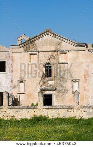 Casino del Duca. Mottola. Puglia. Italy.