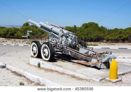 Old Cannon On Robben Island