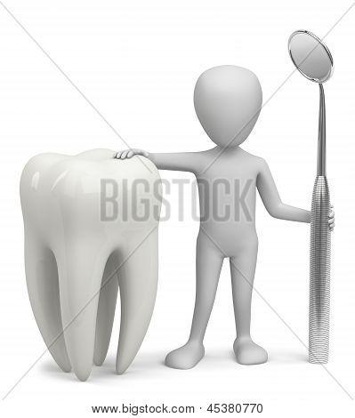 3D Man - The Dentist.