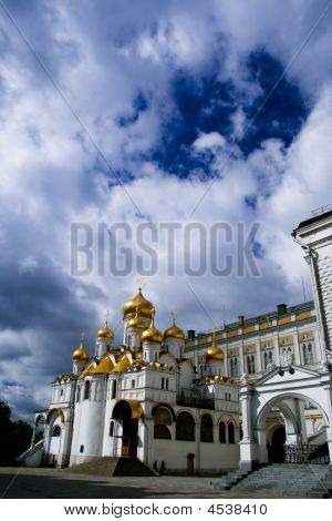 The Patriachs Palace Kremlin Russia