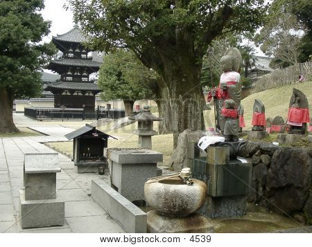 The Terrytory Of  Shinto Temple