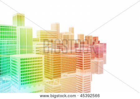City Model Illustration