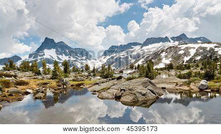 Ansel Adams Wilderness Alpine Lakes Scenery Sierra Nevada California USA poster