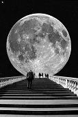 Stairs to the Moon poster
