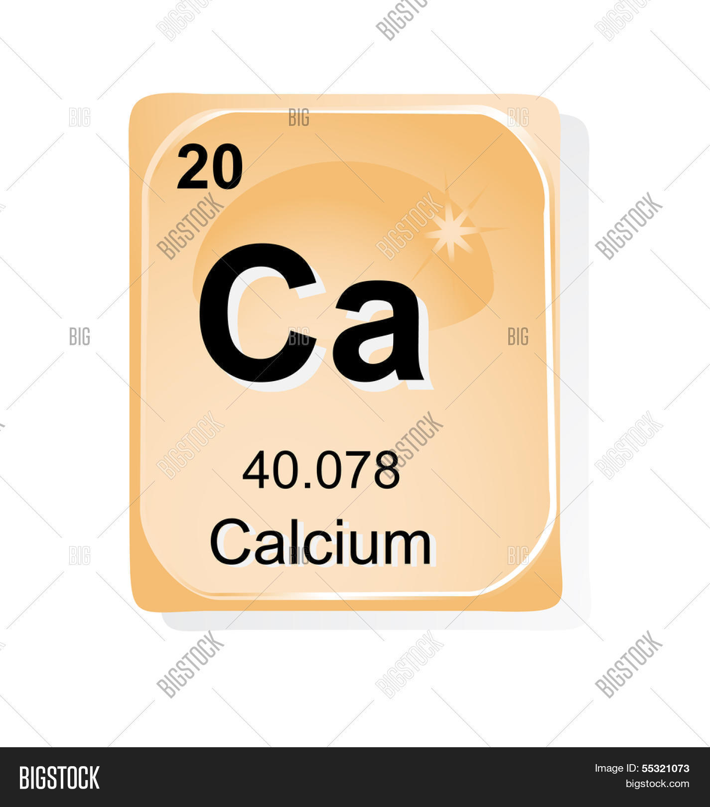 Calcium Chemical Vector Photo Free Trial Bigstock