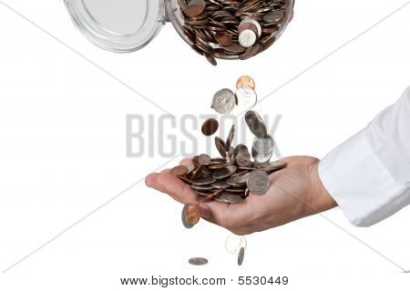 Pouring Change