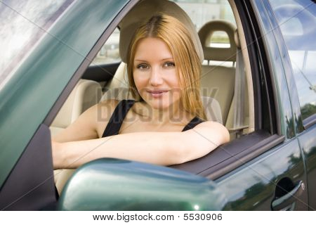 Pretty Girl In The Car