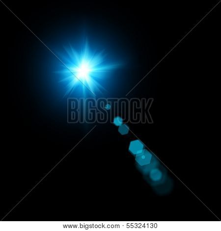 Lens Flare. Abstract Lighting Backgrounds For Your Design