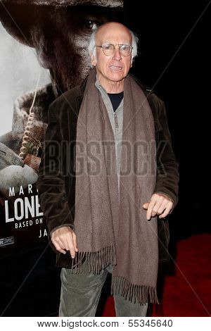 NEW YORK-DEC 3: Actor Larry David attends the premiere of