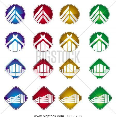 Buildings And House Icon