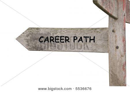 Career Path Themed Street Sign