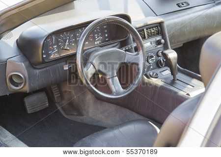 1981 Delorean Interior