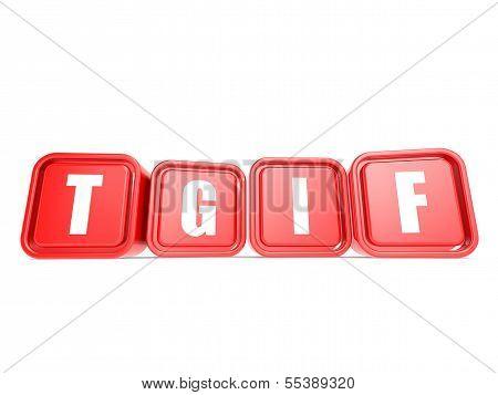 TGIF cube
